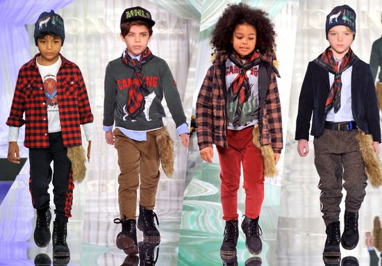 Boy Scout Story Fashion Show