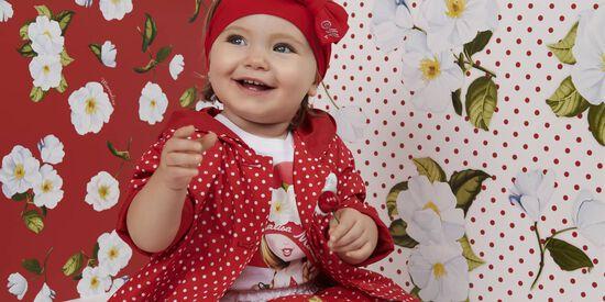 Monnalisa Bebè Anemones&Polka dots