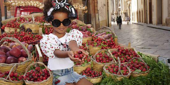 Monnalisa Minnie and Cherries