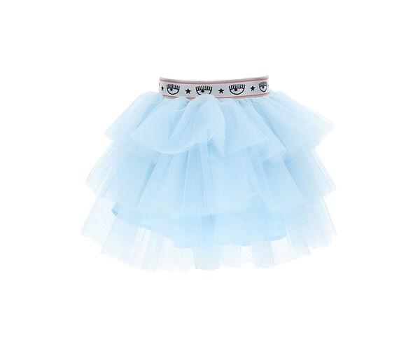 Chiara Ferragni<br>Eyelike skirt