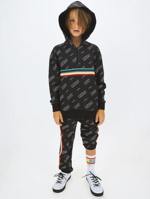 Boy's over sized acetate MNLS sweatshirt