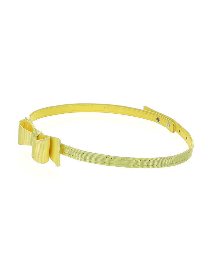 Belt with bow