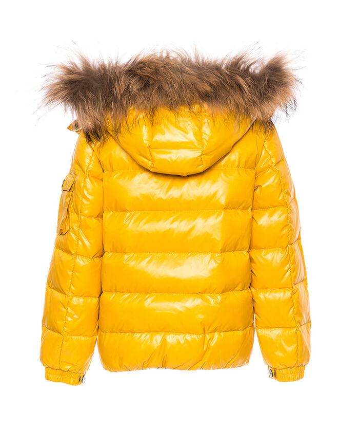 Nylon down jacket, hoodie