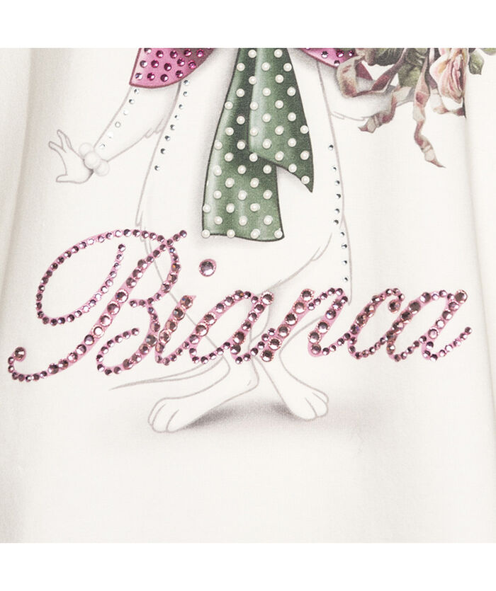 Bianca flared top