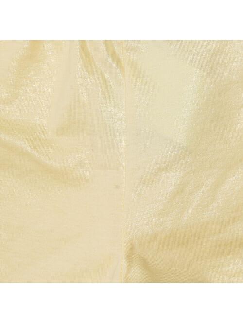 Леггинсы из ткани с пластиковым покрытием