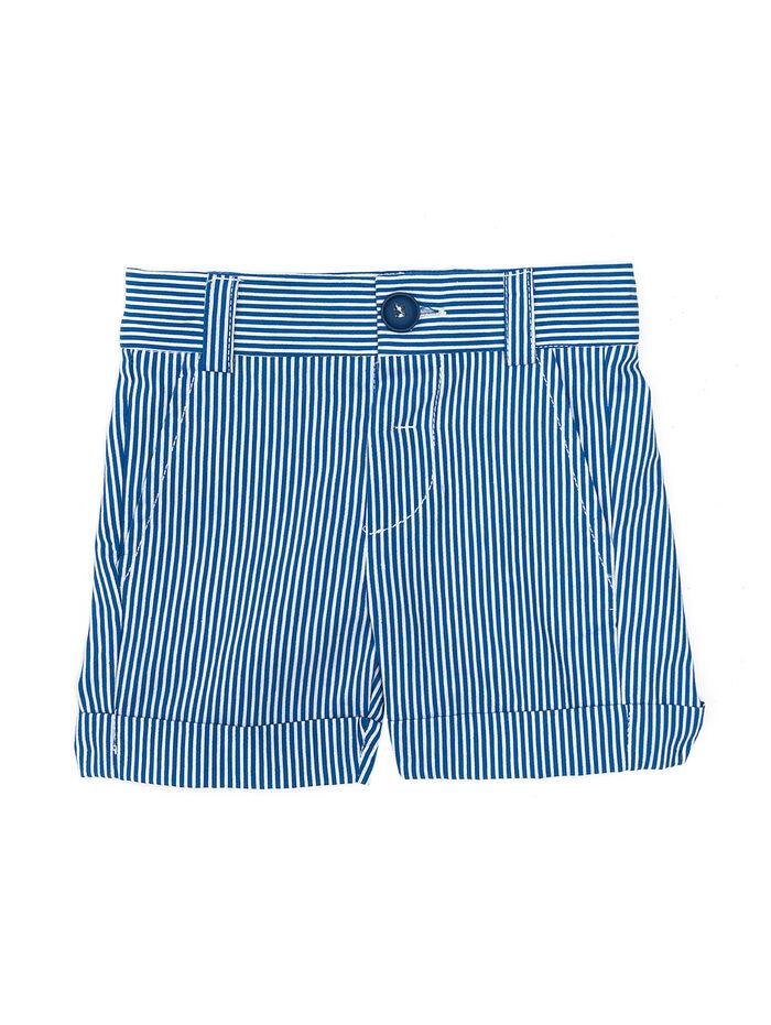 Полосатые шорты из хлопка