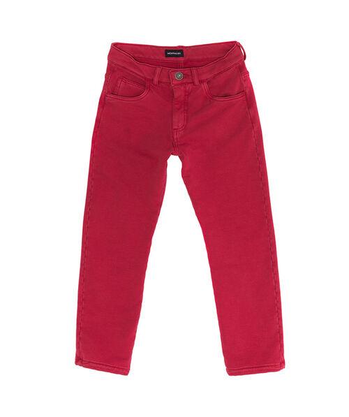 Fleece trousers, five pockets