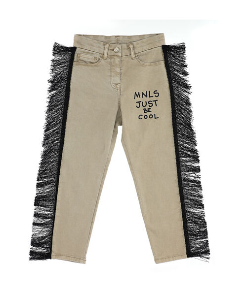 Stretch drill jeans
