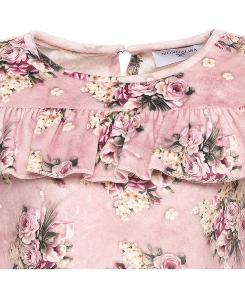 Платье, синель, цветы