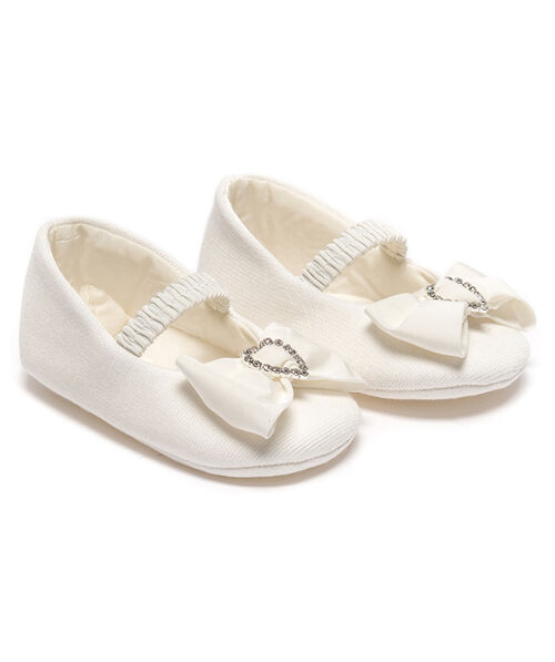 Newborn bow shoes