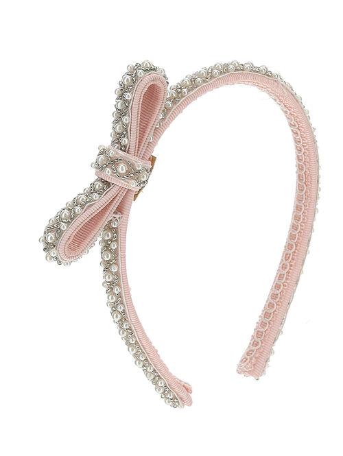 Pearled hairband