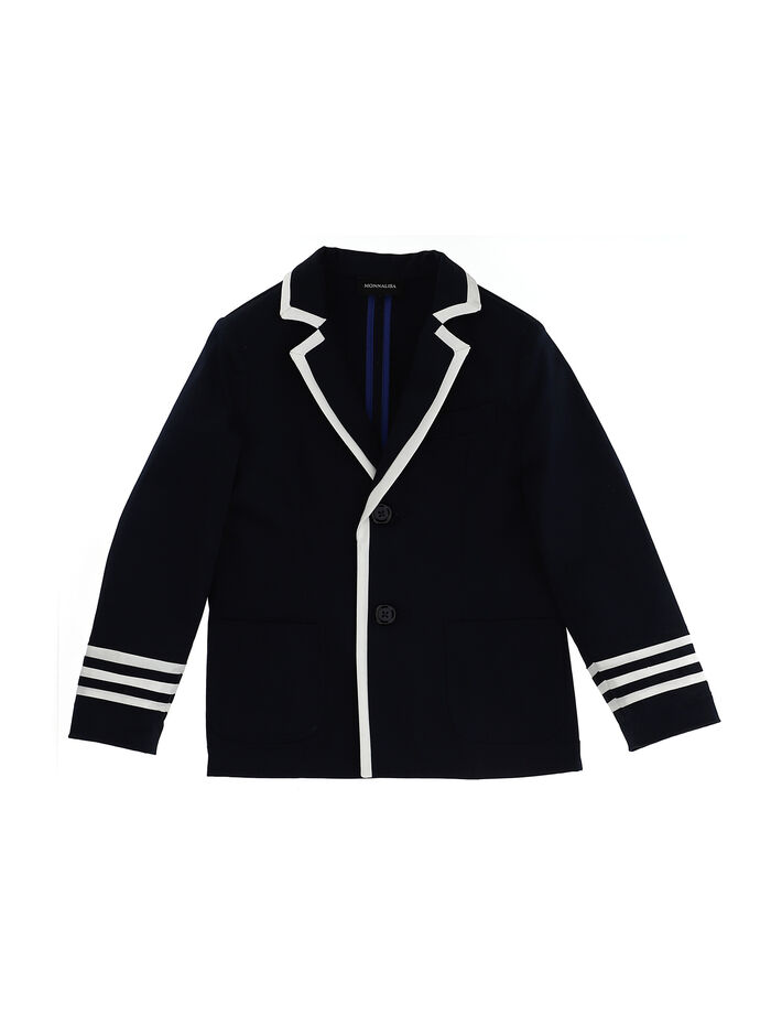 Gabardine sailor jacket