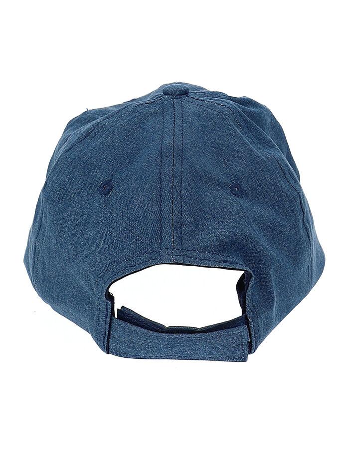 Cappellino visiera in chambray