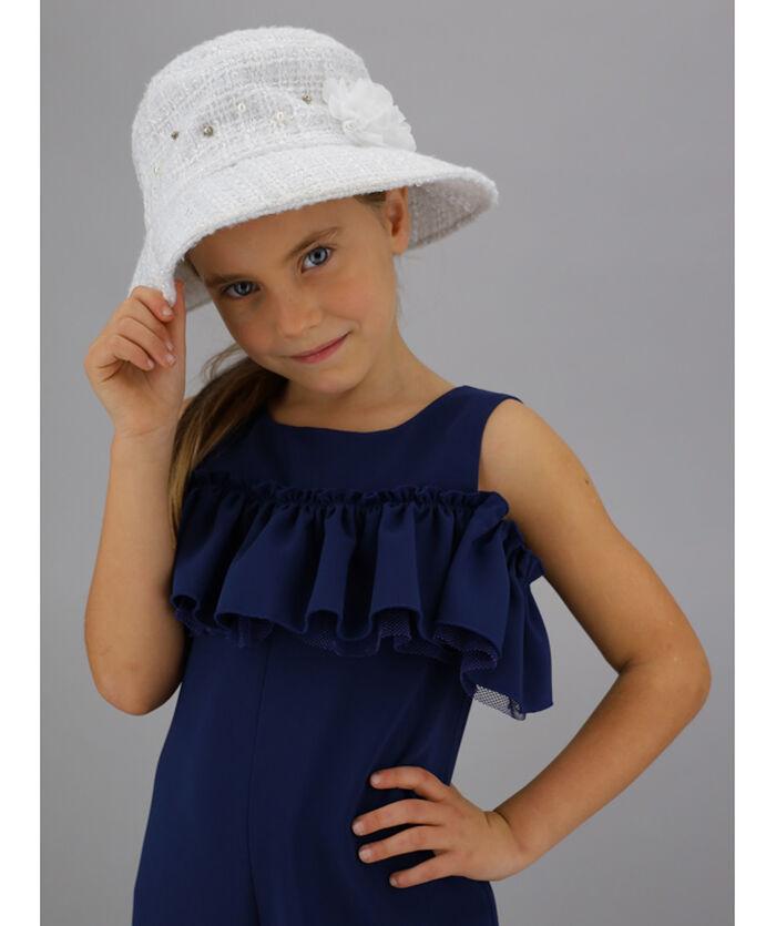 Bouclé hat