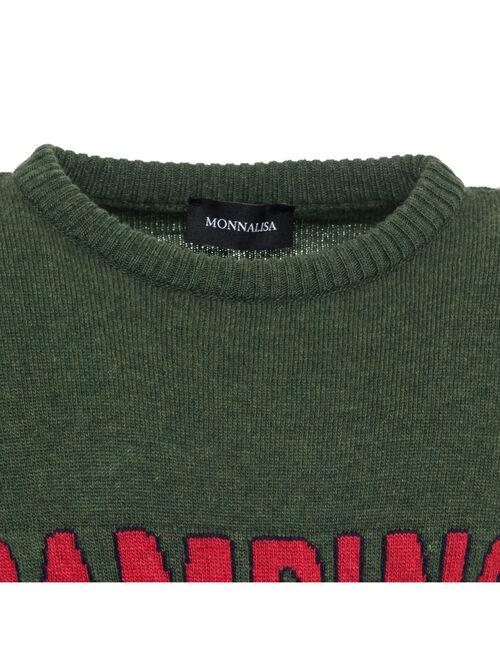 Пуловер с аппликацией