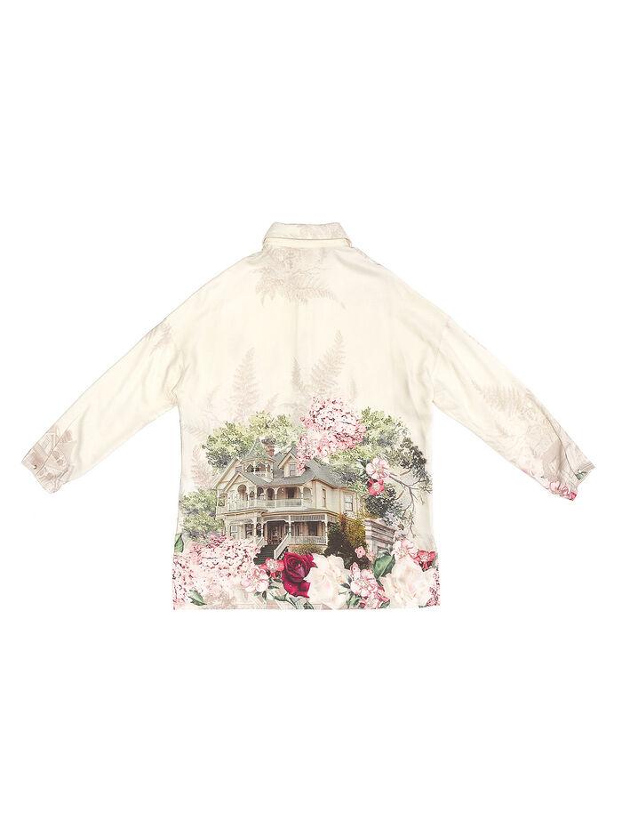 Elegant printed shirt