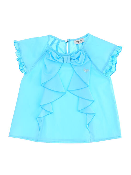 Cotton top with bow