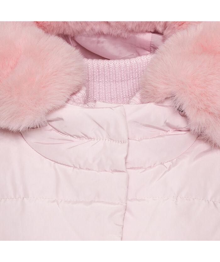 Длинная нейлоновая куртка