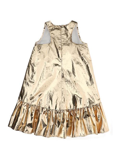 Laminated dress