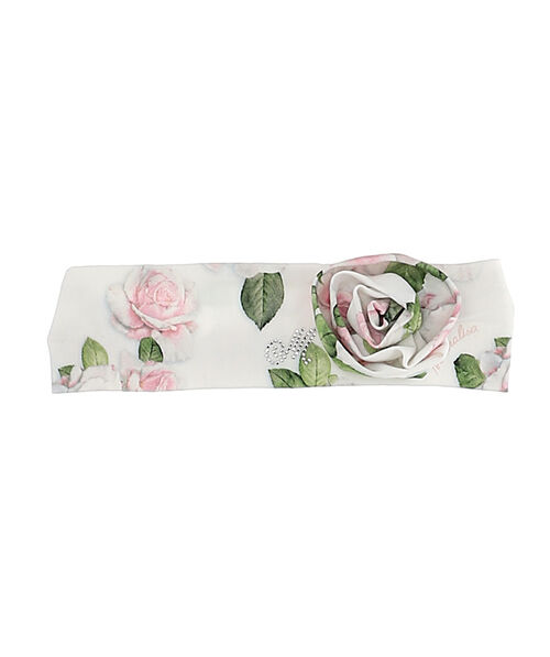 Baby headband with rose