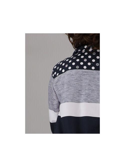 Open sweatshirt