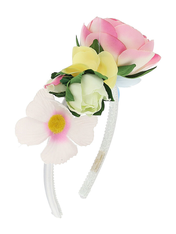 Hairband with maxi peony