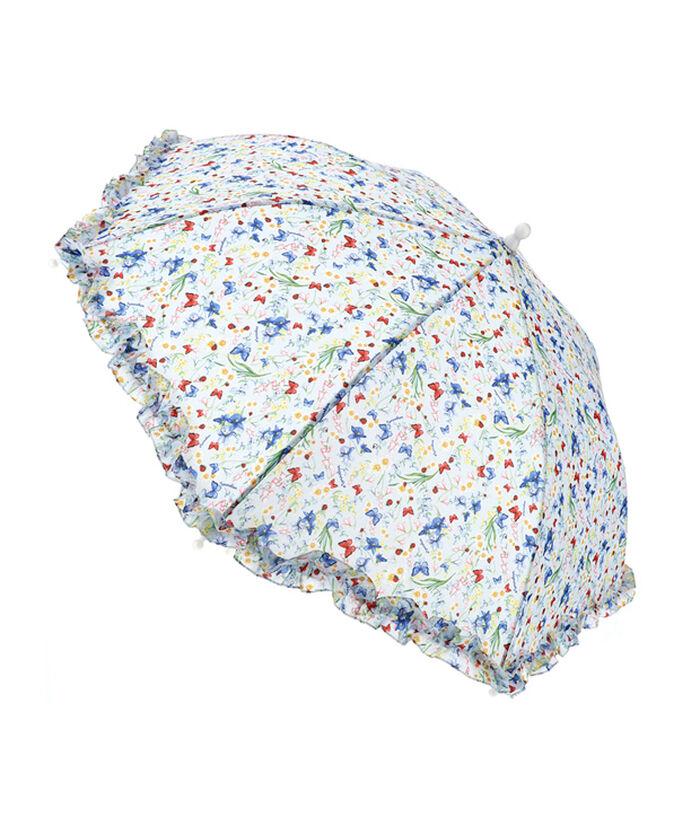 Flowery umbrella