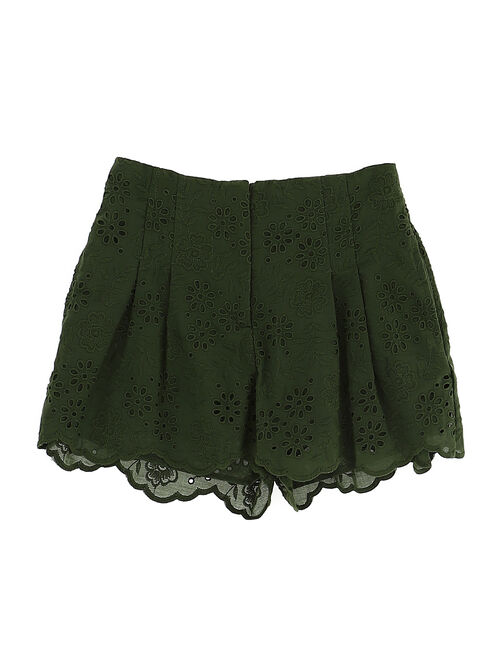 Broderie anglaise shorts
