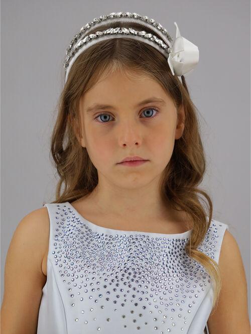 Pearl headband tiara