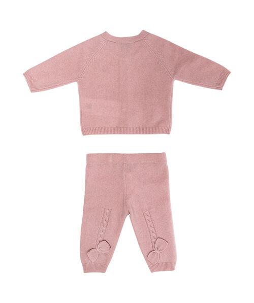 Комплект для новорожденной из кашемира