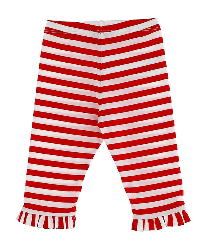 Girl leggings, striped