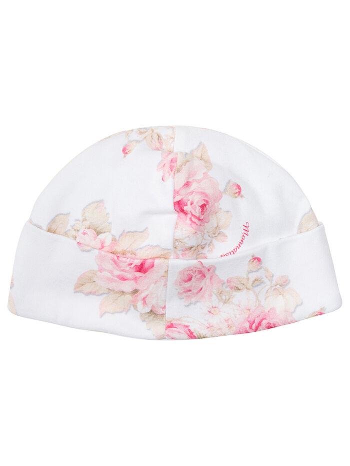 Chenille newborn hat