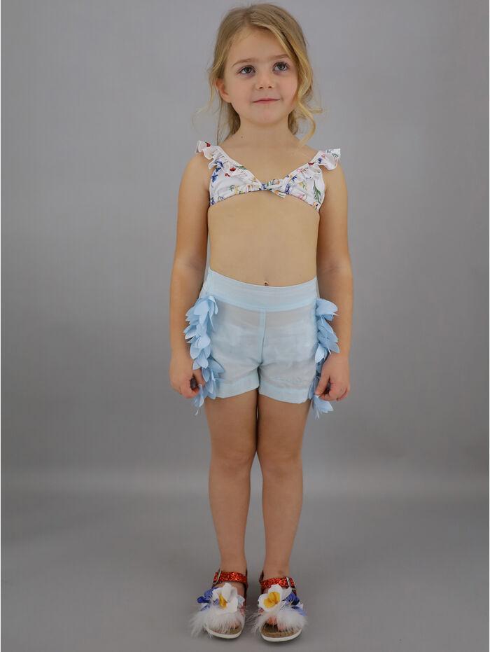 комбез шортами для девочки