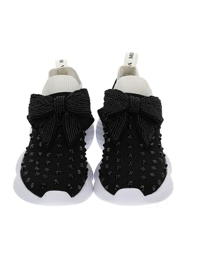 Sock sneakers strass