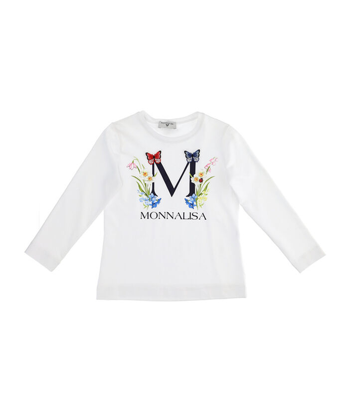 Long sleeved T-shirt with logo