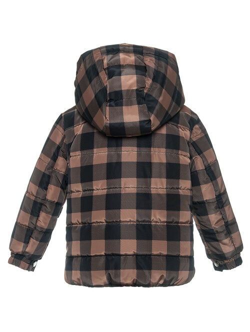 Baby's nylon quilted jacket