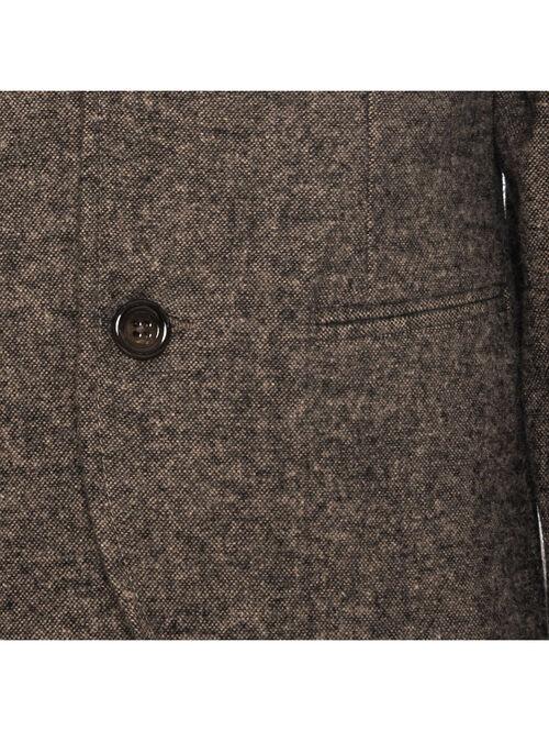 Tweed jacket with lining