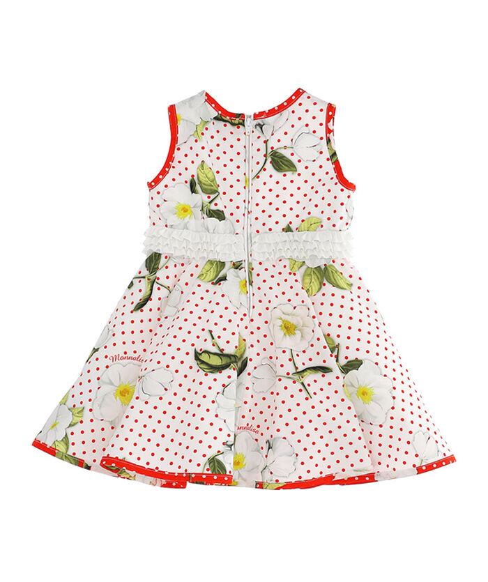 Little girl dress with circle skirt