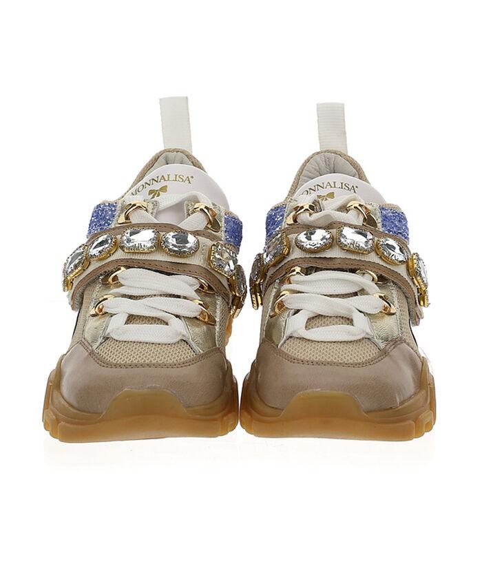 Maxi rhinestones sneakers