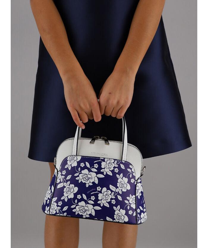 Roses print bag