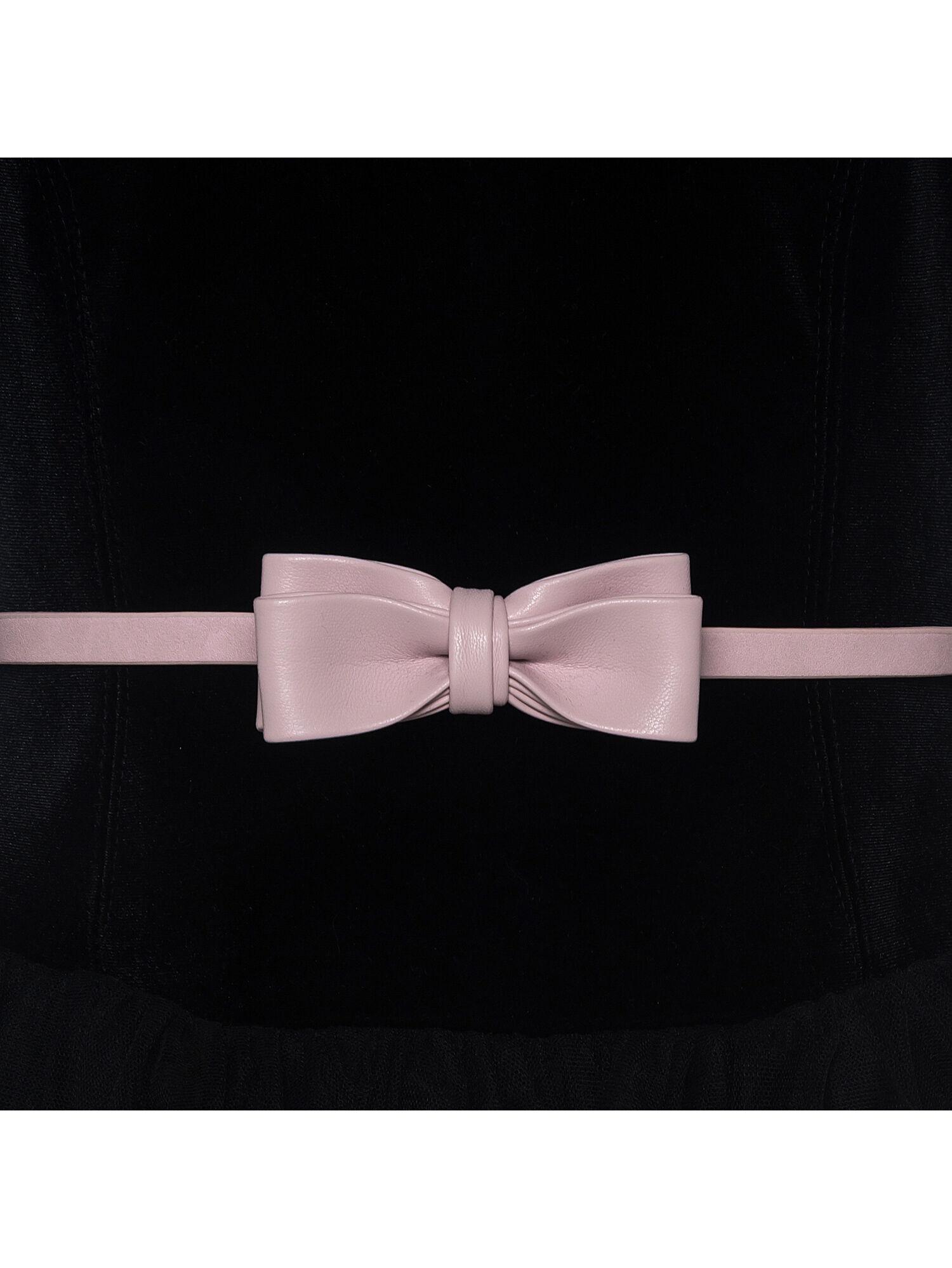 Spanish//Portuguese White /& Grey Knitted Double Ribbon Bow Set upto 18mths