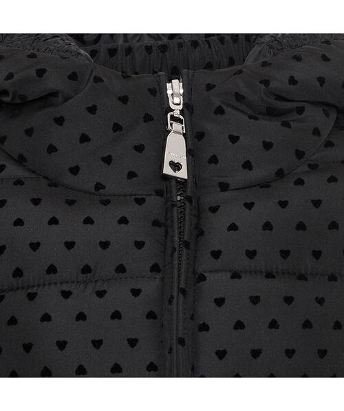 Длинная куртка с сердечками