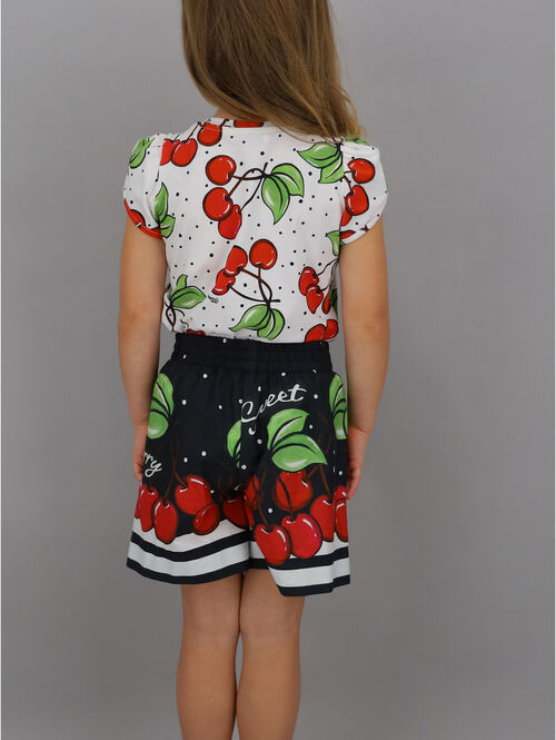Top with cherry design