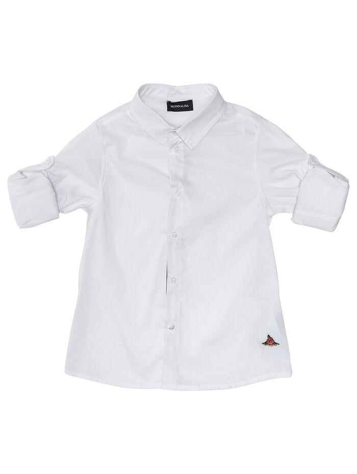 Рубашка из хлопчатобумажного поплина