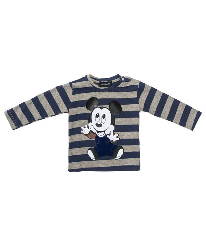 Mickey Mouse t-shirt, with stripes