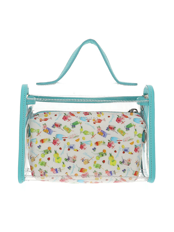 PVC bag with beauty case