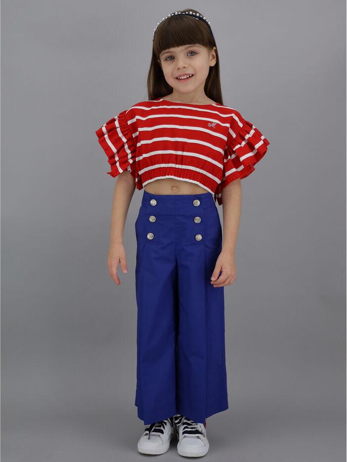 Viscose, striped top