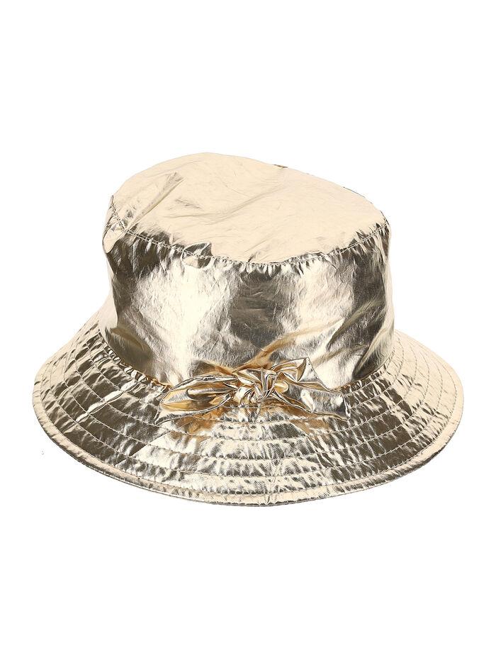 Cappello in tela laminata