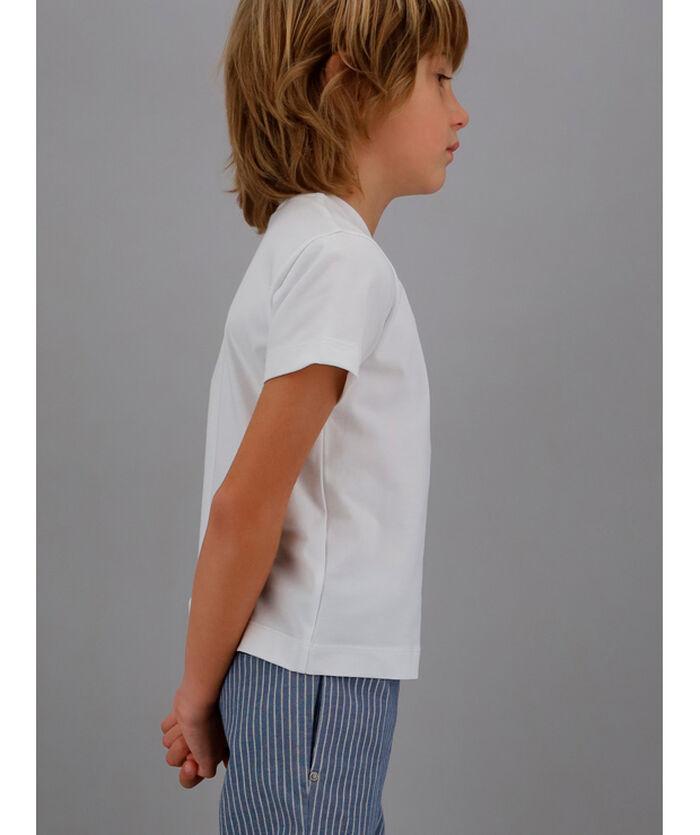 Nautical print t-shirt