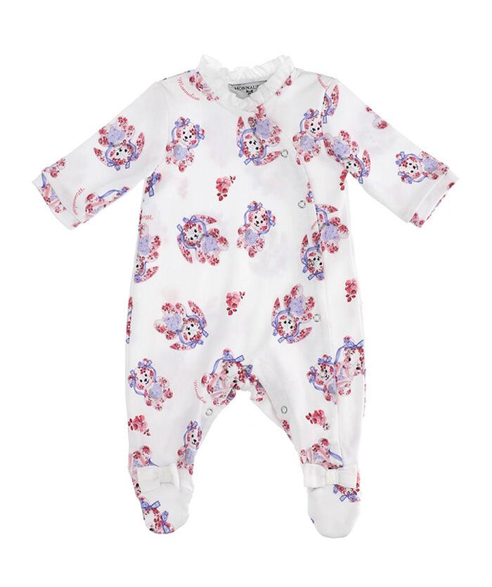 Baby onesie with little animals